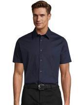 Men`s Stretch-Shirt Broadway Shortsleeve